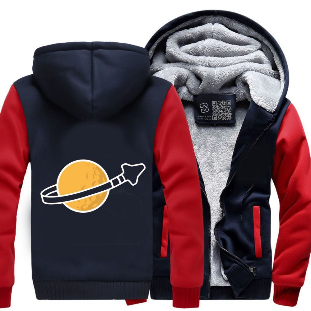 In Space Since 1978... Fleece Jacket - Red / X-Small - Productgenapi