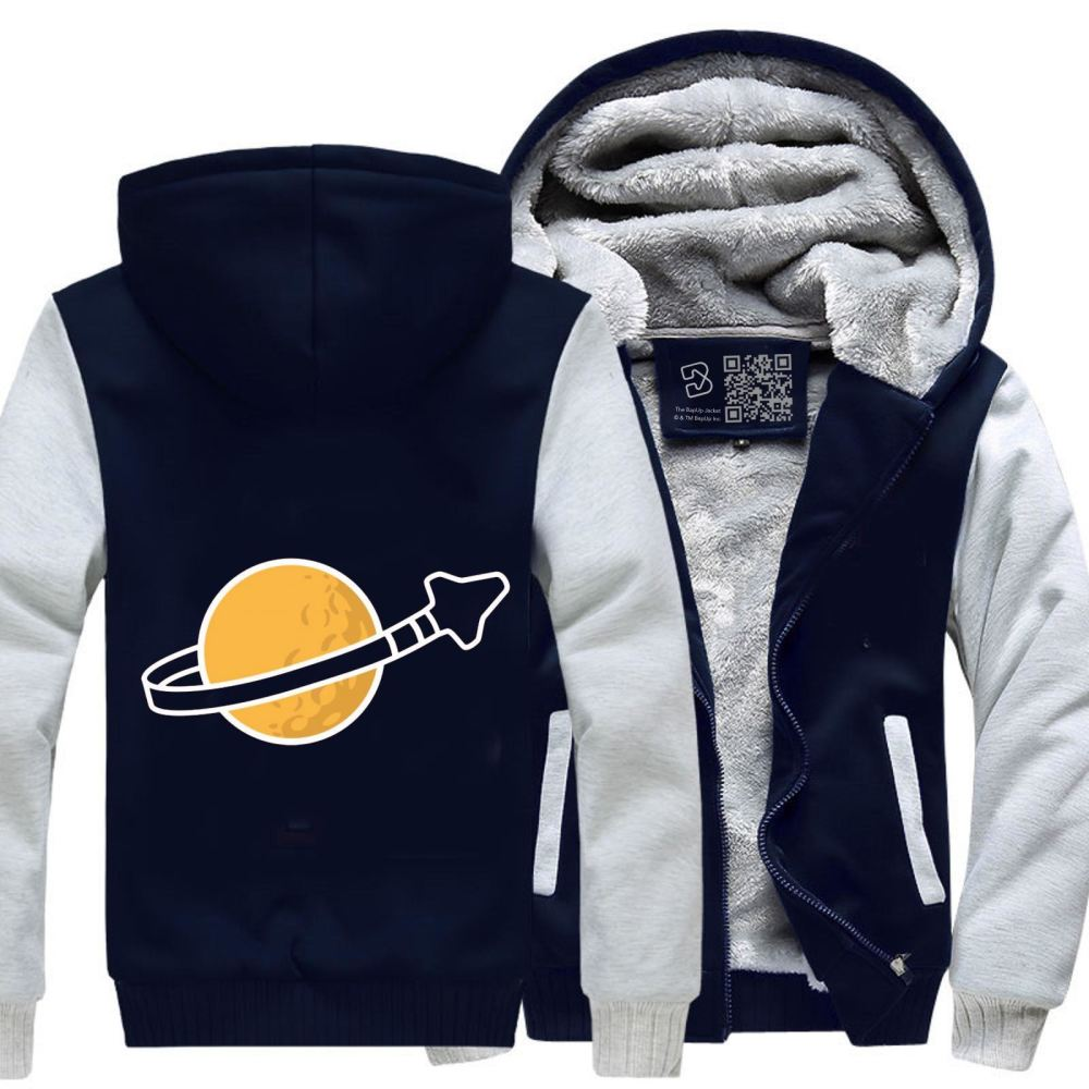 In Space Since 1978... Fleece Jacket - White / X-Small - Productgenapi