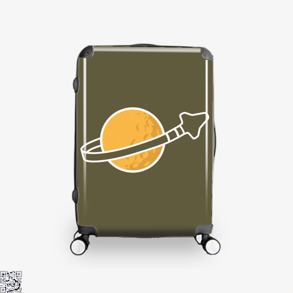 In Space Since 1978... Suitcase - Brown / 16 - Productgenapi