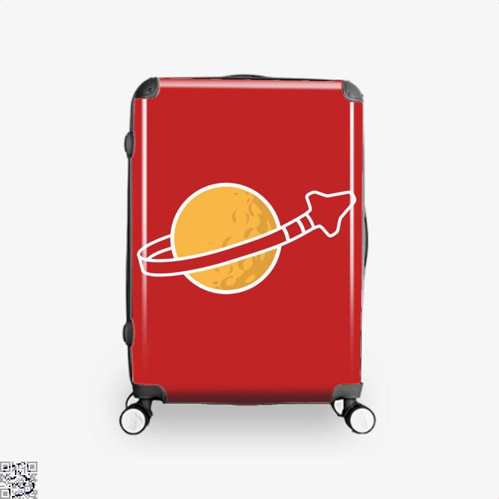 In Space Since 1978... Suitcase - Red / 16 - Productgenapi