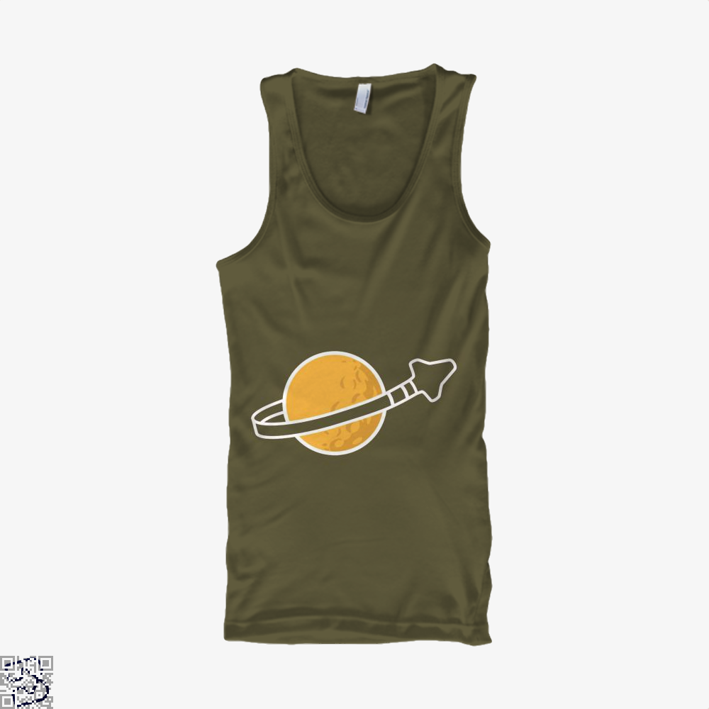 In Space Since 1978... Tank Top - Men / Brown / Small - Productgenapi