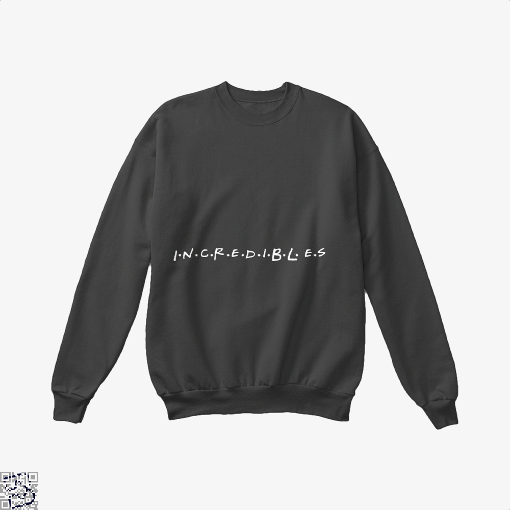 Incredible Friends Incredibles Crew Neck Sweatshirt - Black / X-Small - Productgenapi