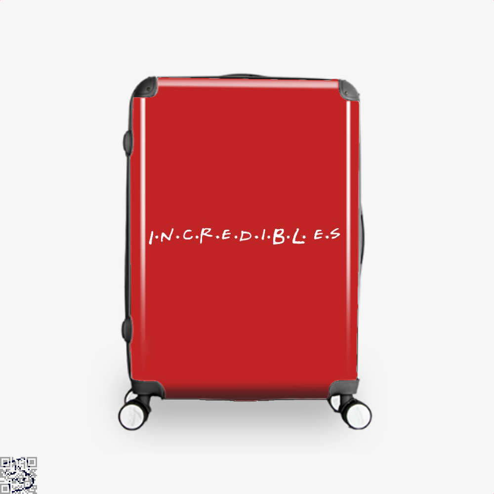 Incredible Friends Incredibles Suitcase - Red / 16 - Productgenapi