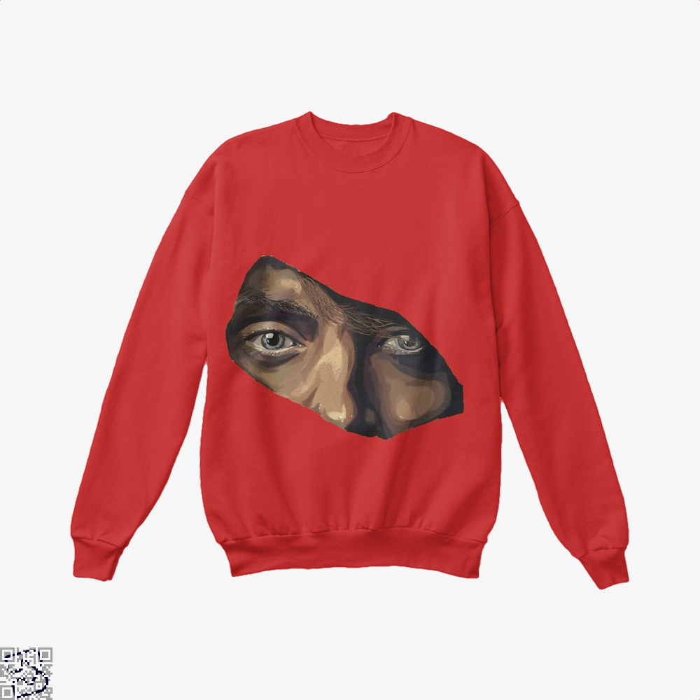 Indian Eyes Aathira Mohan Crew Neck Sweatshirt - Red / X-Small - Productgenjpg