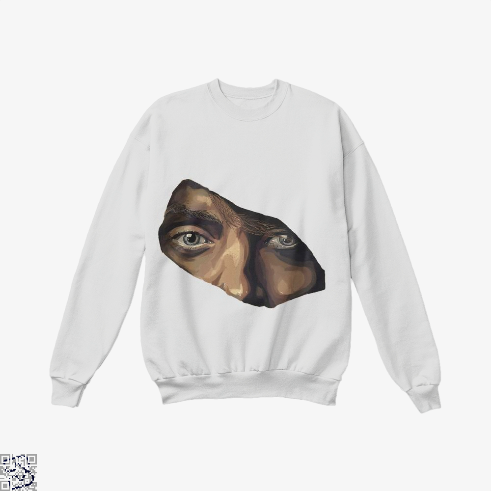 Indian Eyes Aathira Mohan Crew Neck Sweatshirt - White / X-Small - Productgenjpg