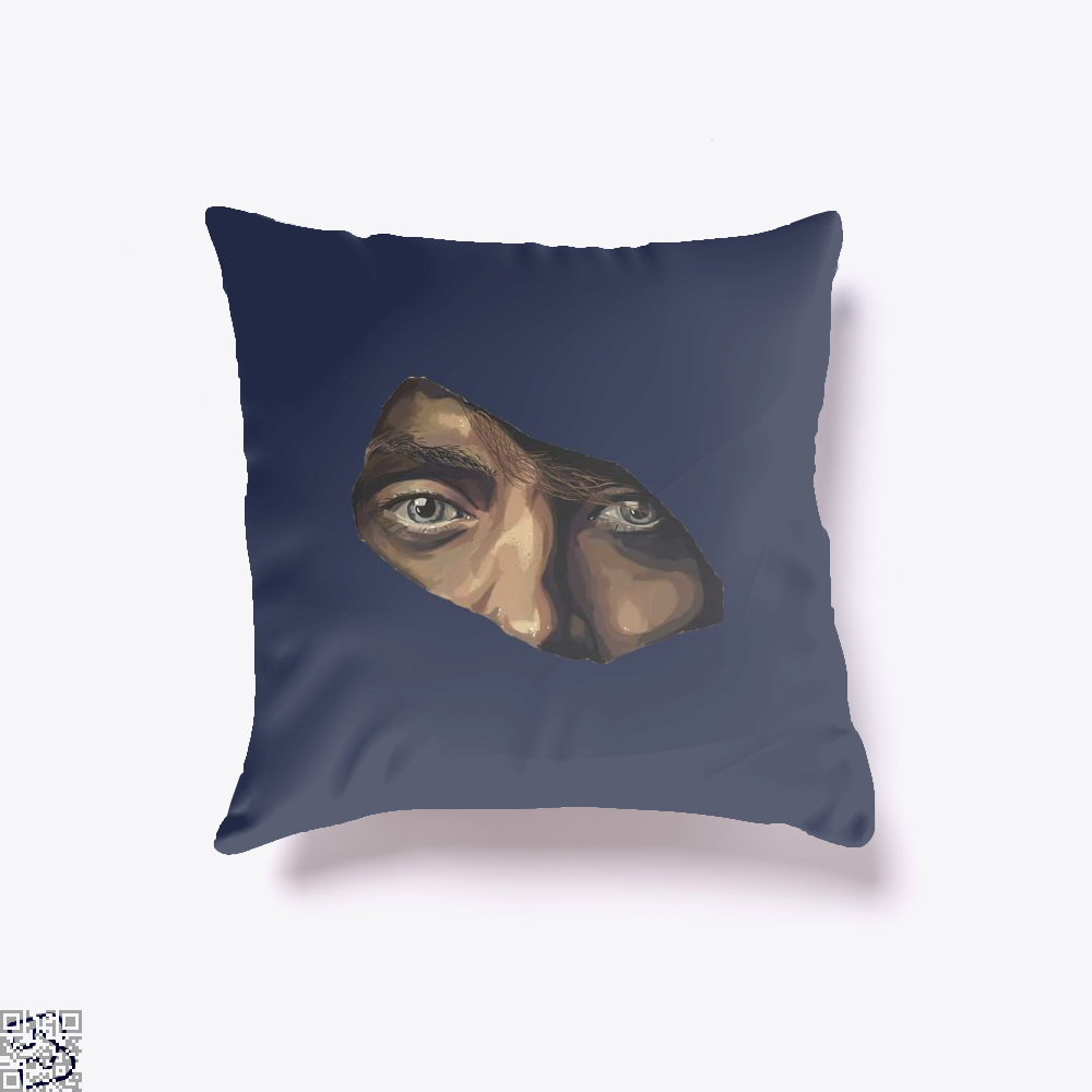 Indian Eyes Aathira Mohan Throw Pillow Cover - Productgenjpg