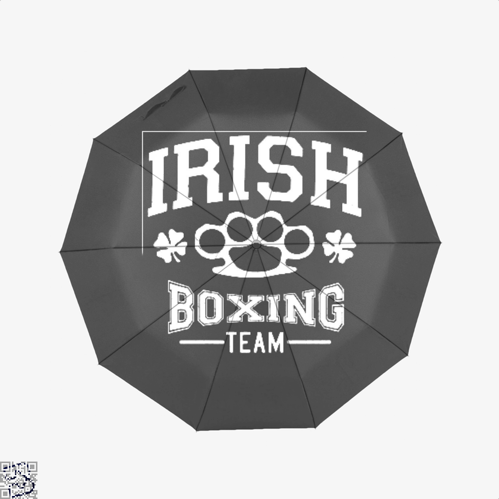 Irish Boxing Team Clover Umbrella - Black - Productgenjpg