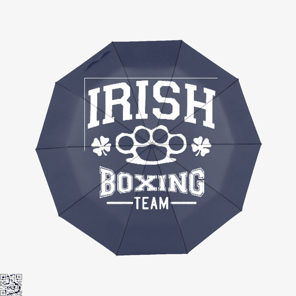 Irish Boxing Team Clover Umbrella - Blue - Productgenjpg