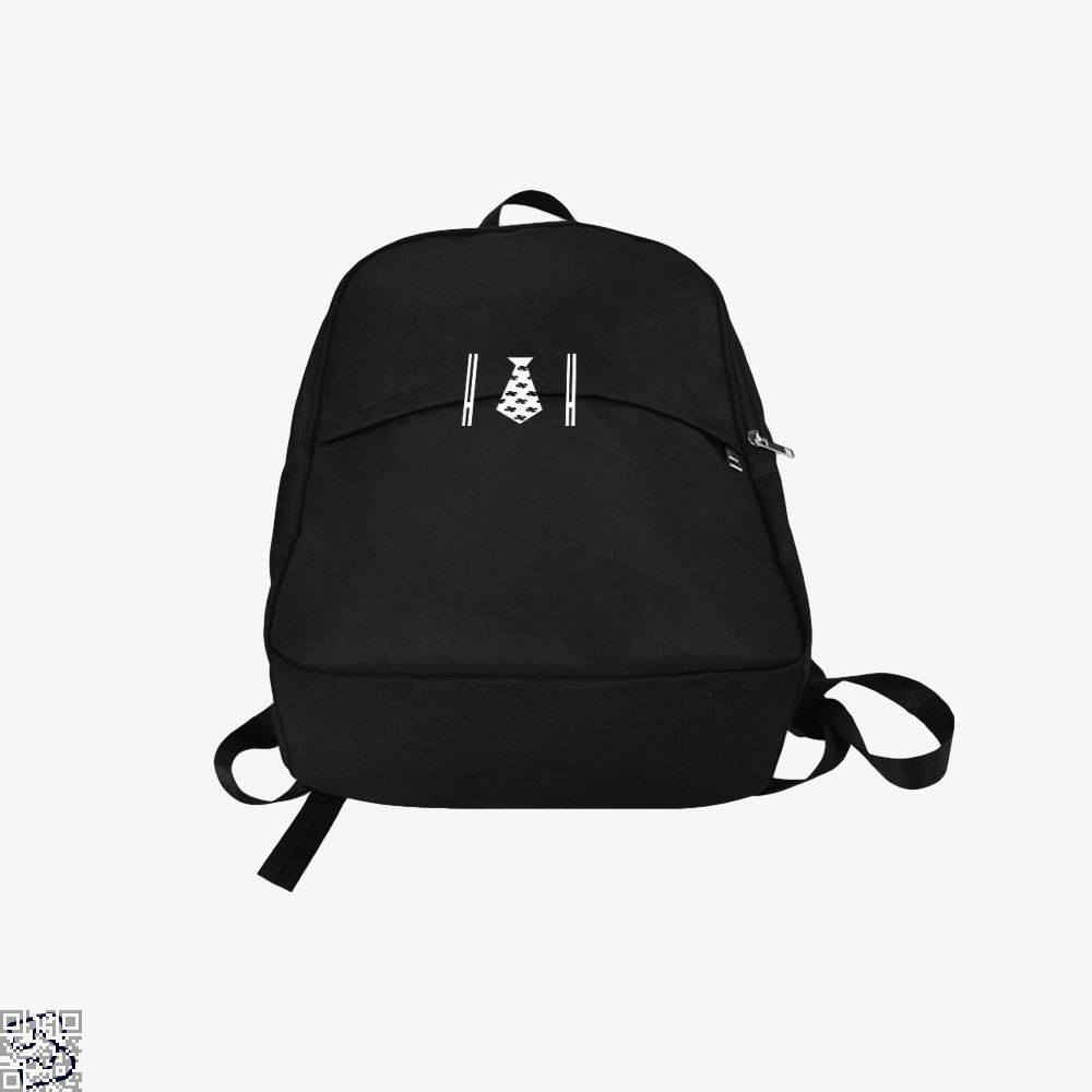 Irish Suspenders With Clover Tie Backpack - Productgenjpg