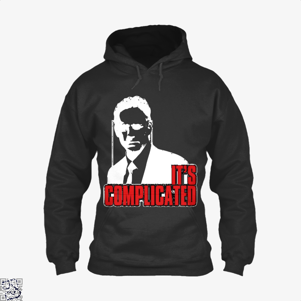 Its Complicated Jordan Peterson Hoodie - Black / X-Small - Productgenapi