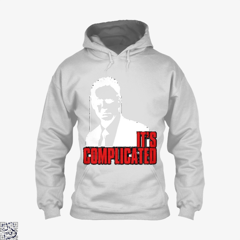 Its Complicated Jordan Peterson Hoodie - White / X-Small - Productgenapi