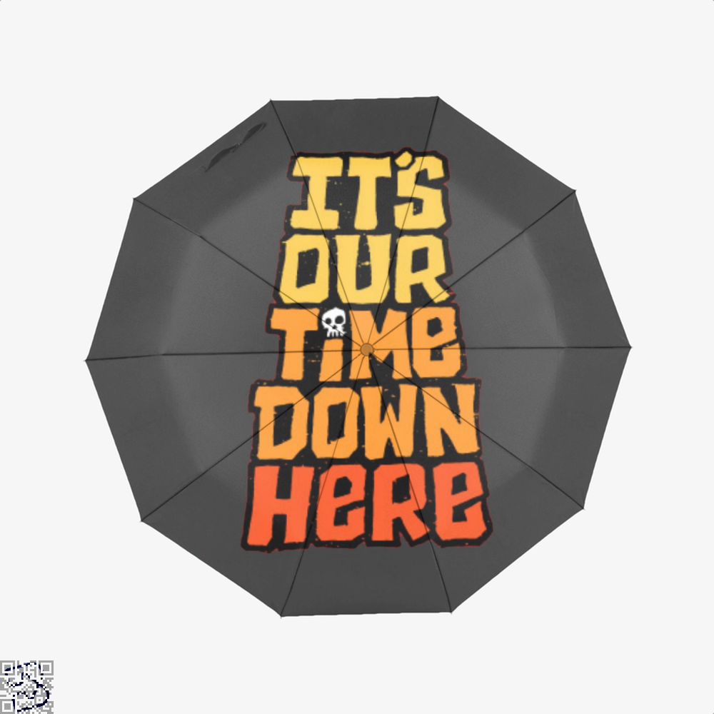 Its Our Time Down Here The Goonies Umbrella - Black - Productgenapi
