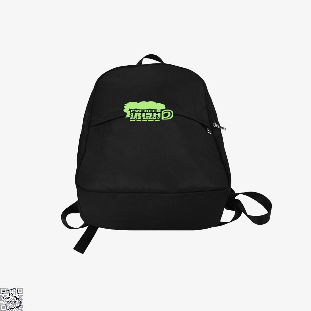 Ive Been Irish For Many Beers Clover Backpack - Productgenjpg