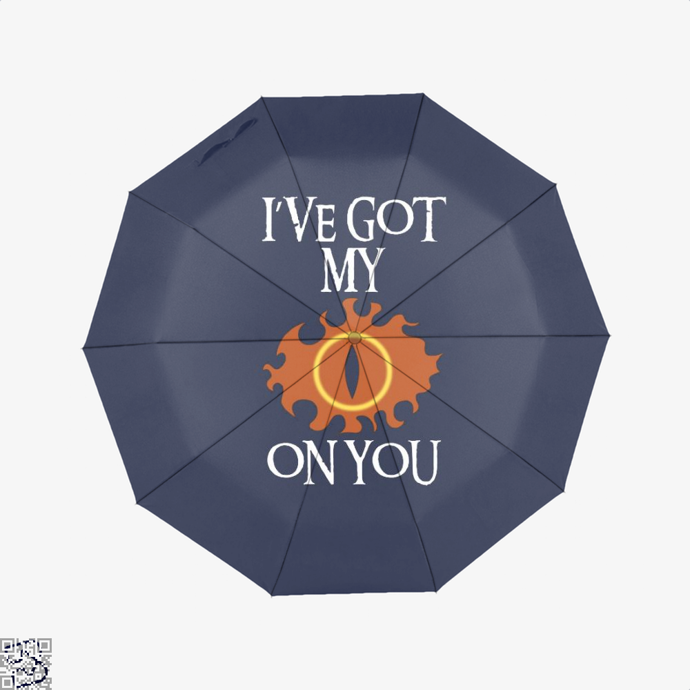 Ive Got My Eye On You Lord Of The Rings Umbrella - Blue - Productgenjpg