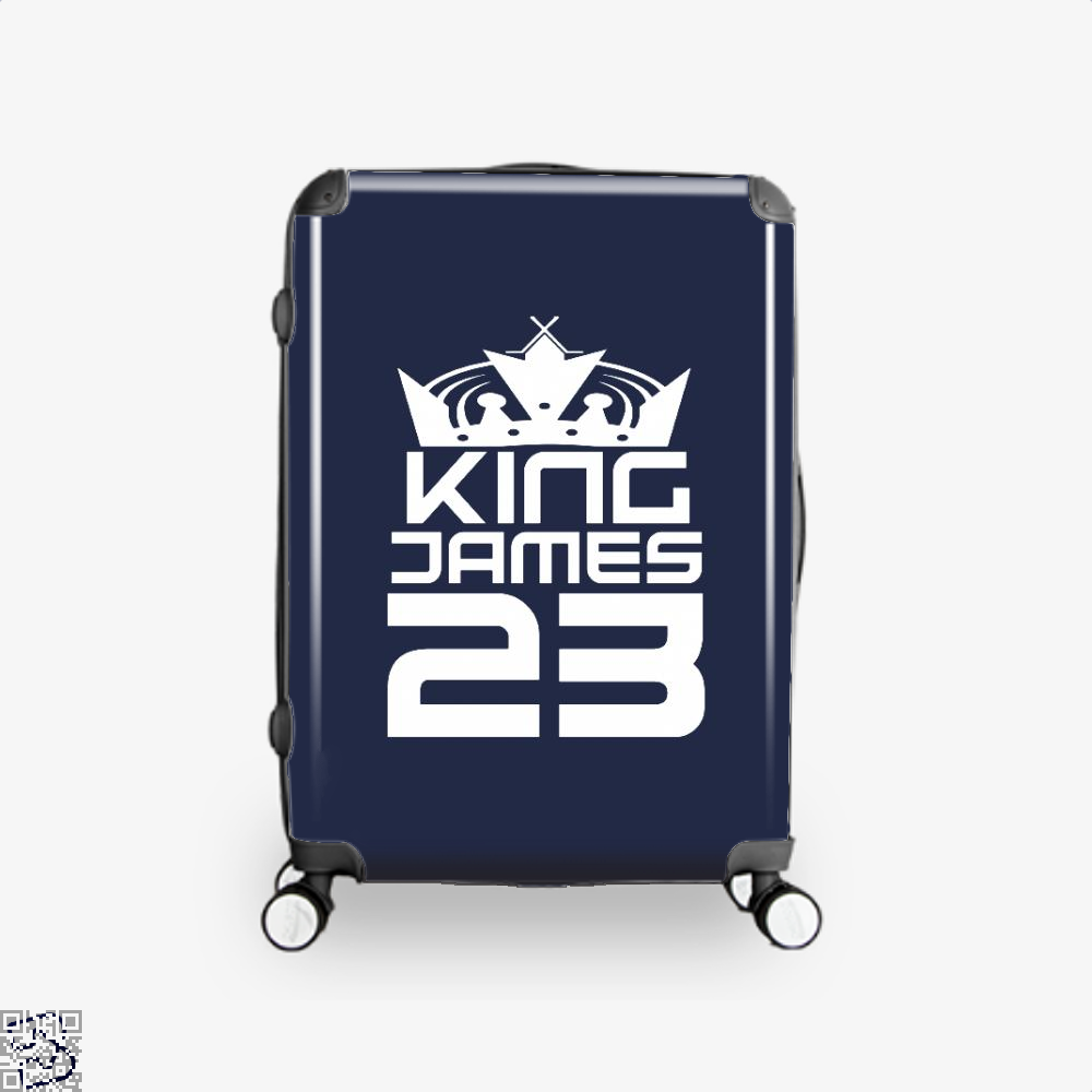James 23 Cavs Suitcase - Blue / 16 - Productgenapi