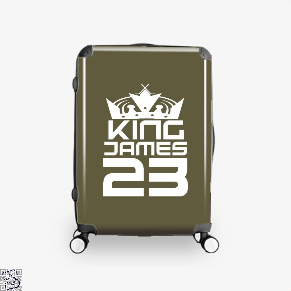 James 23 Cavs Suitcase - Brown / 16 - Productgenapi