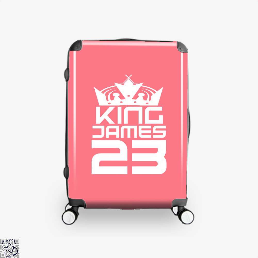 James 23 Cavs Suitcase - Pink / 16 - Productgenapi