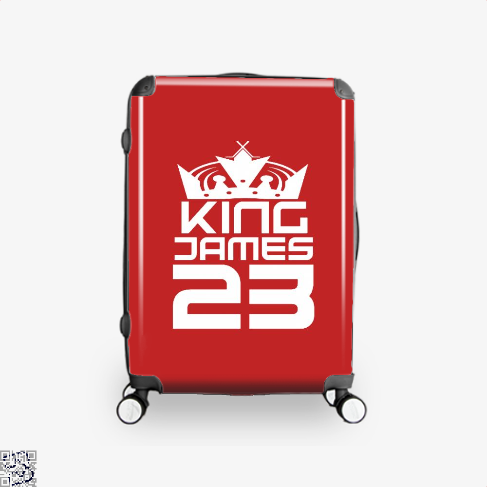 James 23 Cavs Suitcase - Red / 16 - Productgenapi