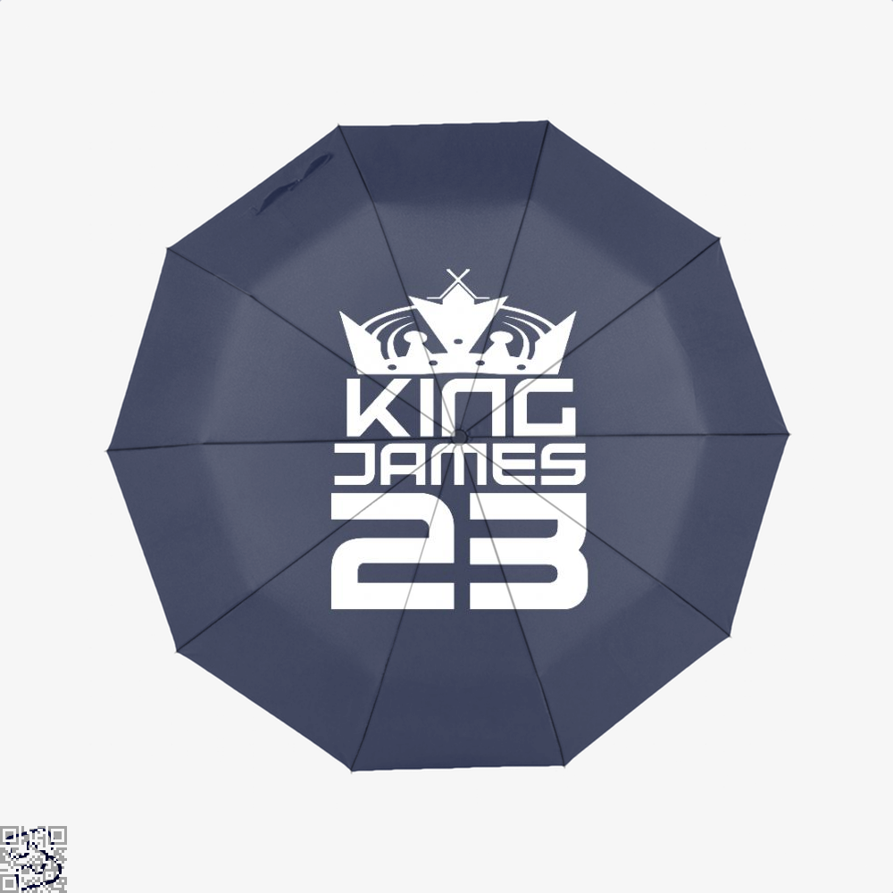 James 23 Cavs Umbrella - Blue - Productgenapi