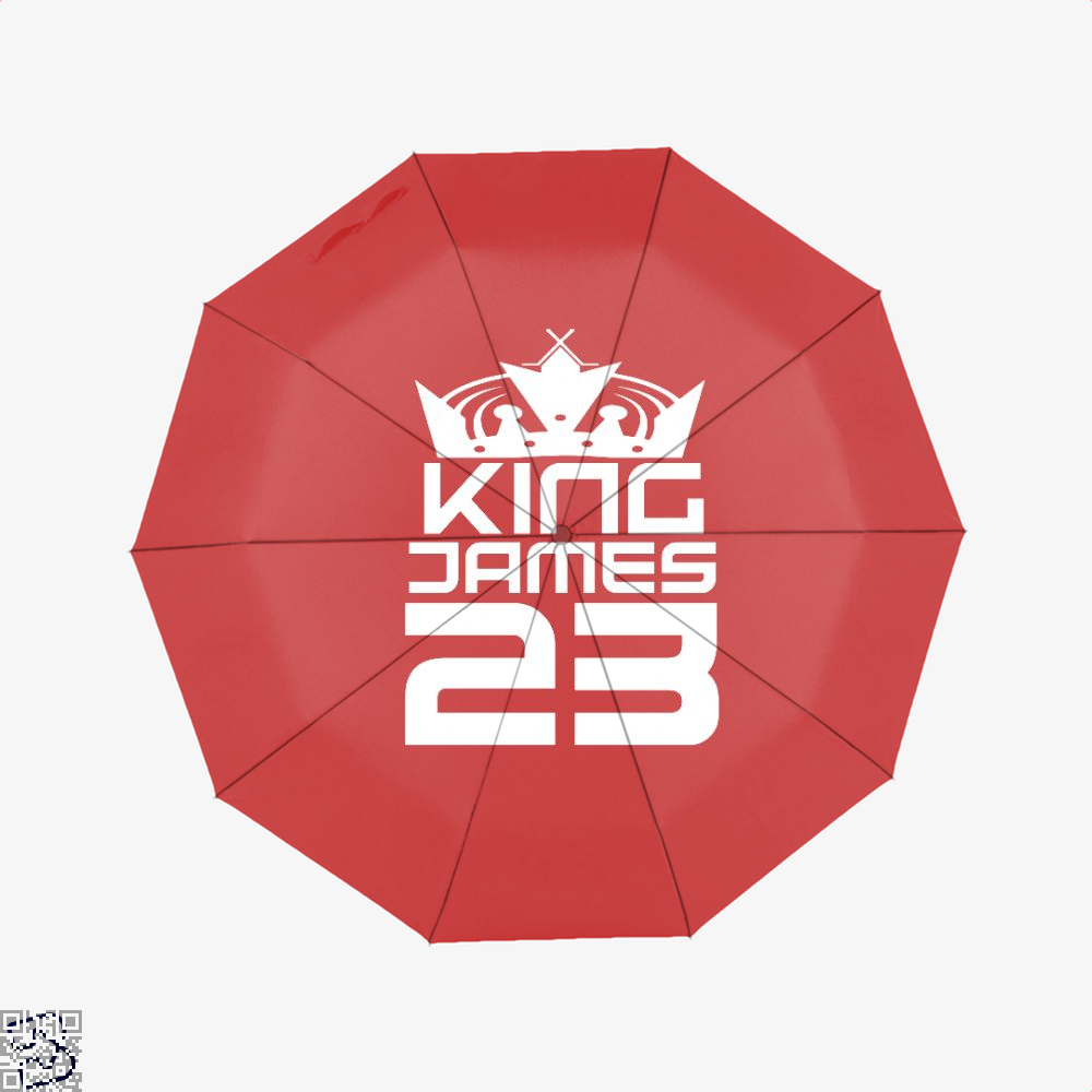James 23 Cavs Umbrella - Red - Productgenapi