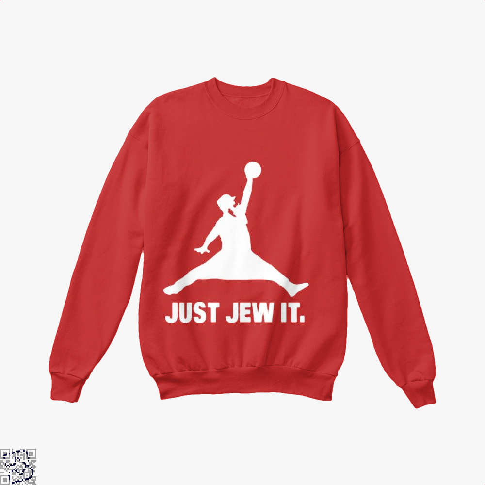 Just Jew It Burlesque Crew Neck Sweatshirt - Productgenjpg