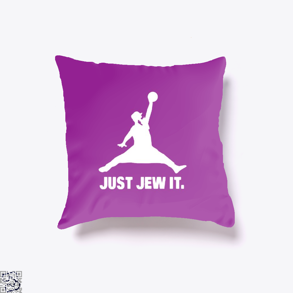 Just Jew It Burlesque Throw Pillow Cover - Productgenjpg