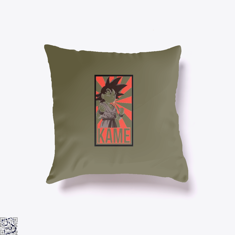 Kame Dragon Ball () Throw Pillow Cover - Brown / 16 X - Productgenjpg