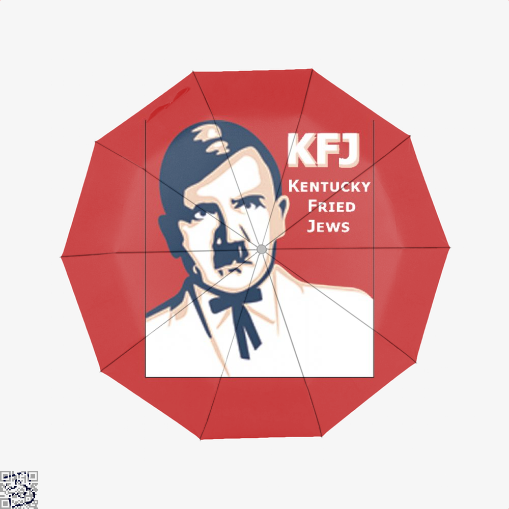 Kfj Jew Jokes Ironic Umbrella - Red - Productgenjpg