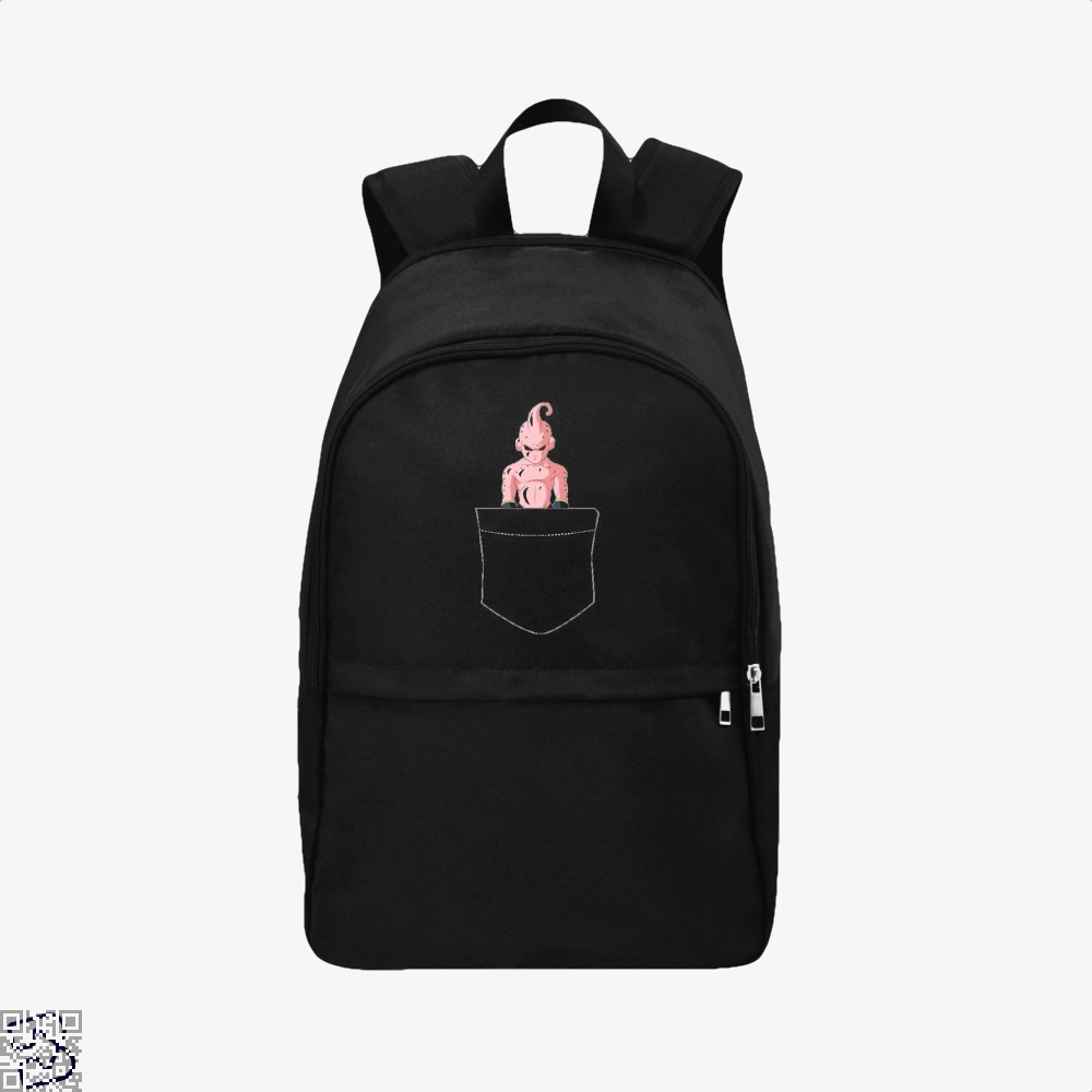 Kid Buu Pocket Dragon Ball () Backpack - Black / Adult - Productgenjpg