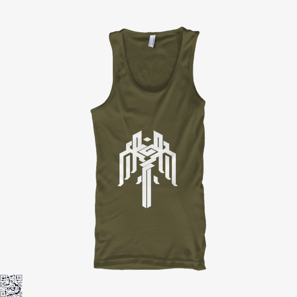 Kirkwall Symbol Dragon And Dungeon Tank Top - Men / Brown / X-Small - Productgenjpg