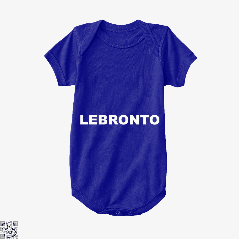 Lebronto Cavs Baby Onesie - Navy / 0-3 Months - Productgenapi
