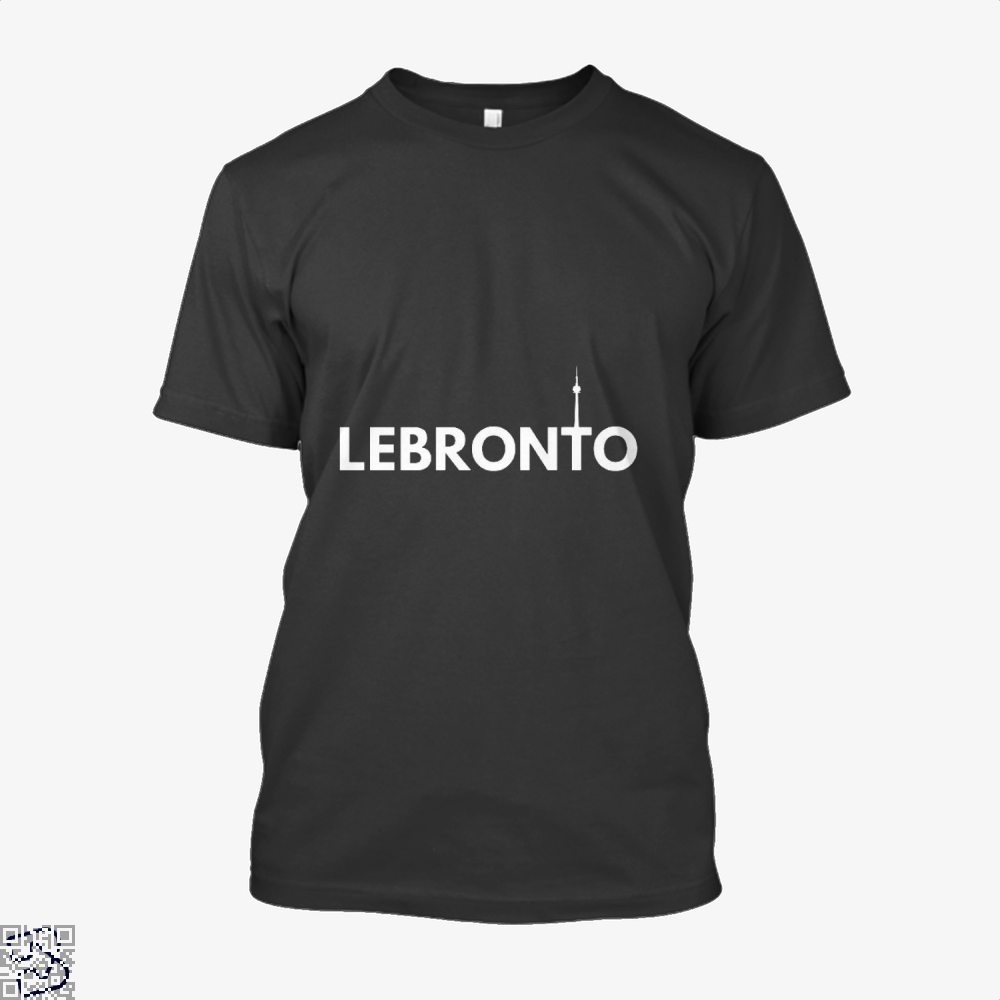 Lebronto City Cavs Shirt - Men / Black / X-Small - Productgenapi