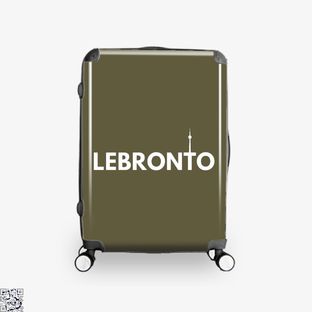 Lebronto City Cavs Suitcase - Brown / 16 - Productgenapi