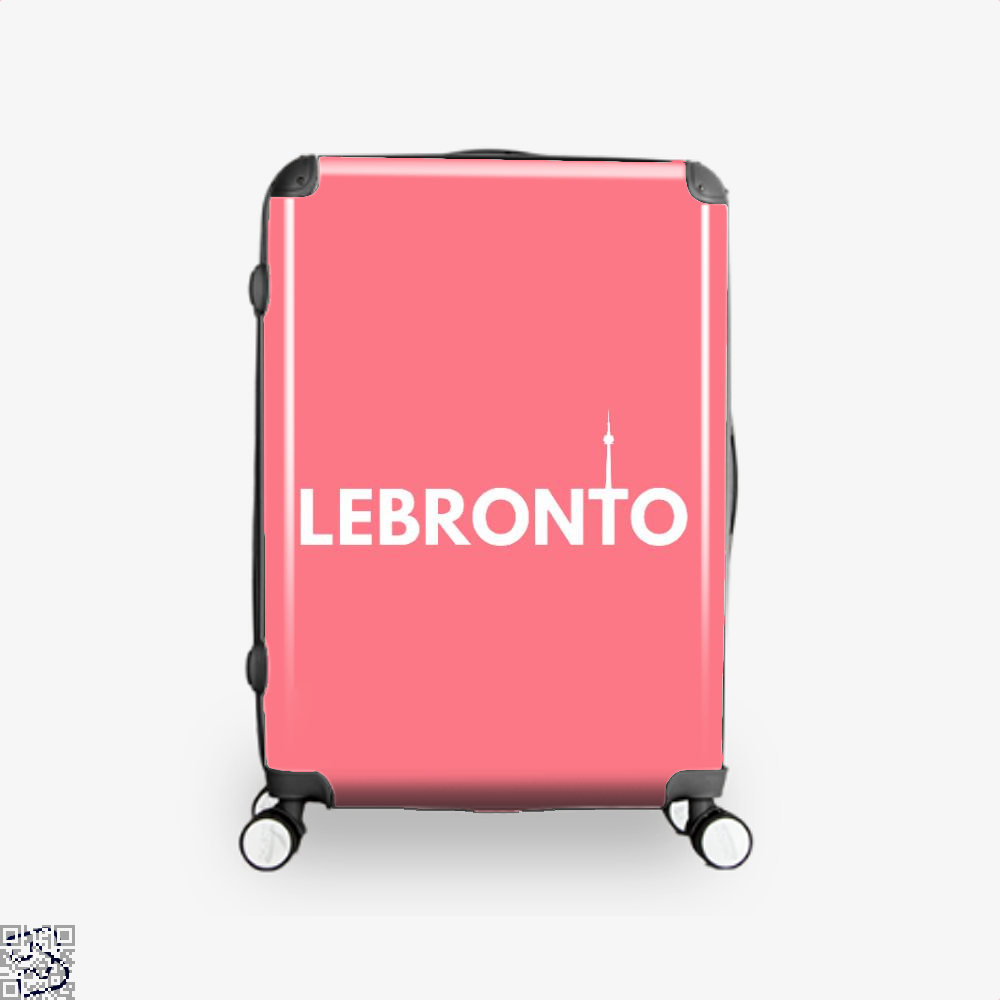 Lebronto City Cavs Suitcase - Pink / 16 - Productgenapi