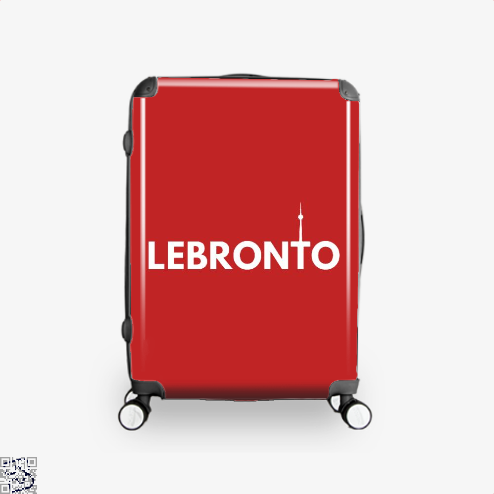 Lebronto City Cavs Suitcase - Red / 16 - Productgenapi