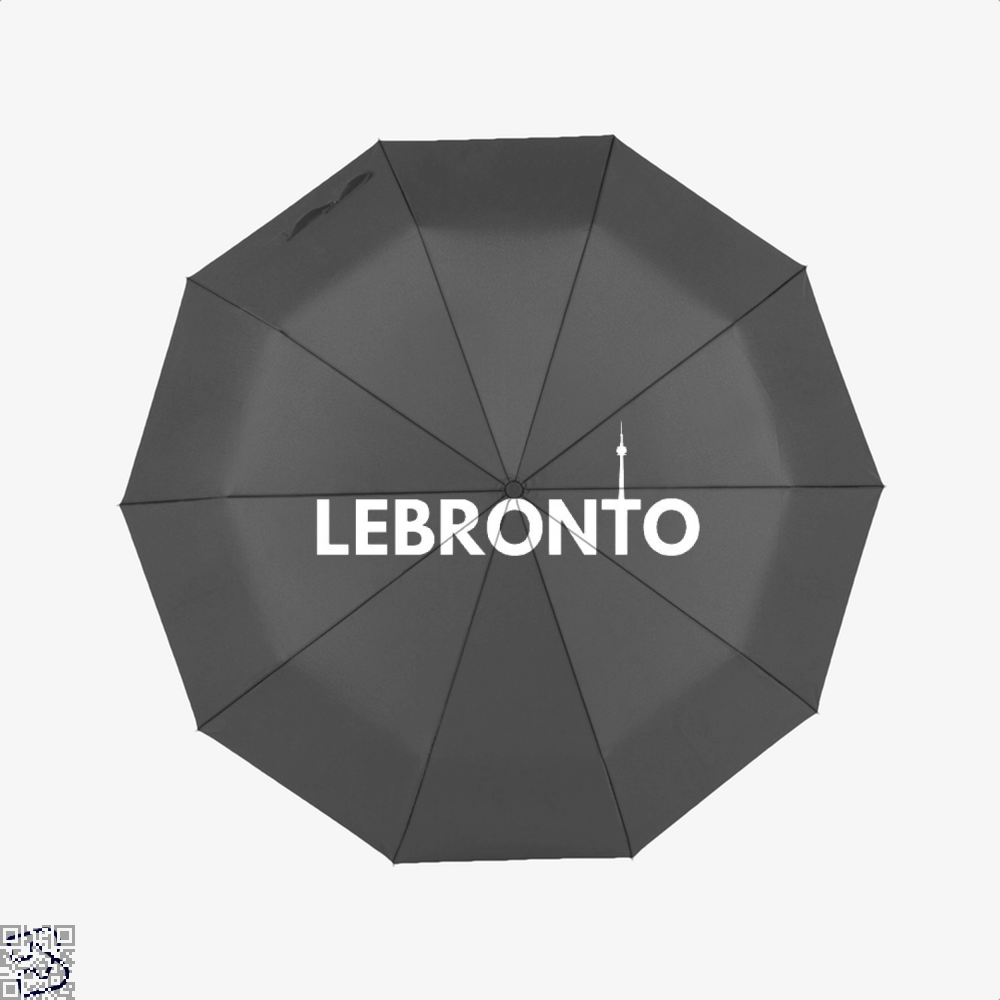 Lebronto City Cavs Umbrella - Black - Productgenapi