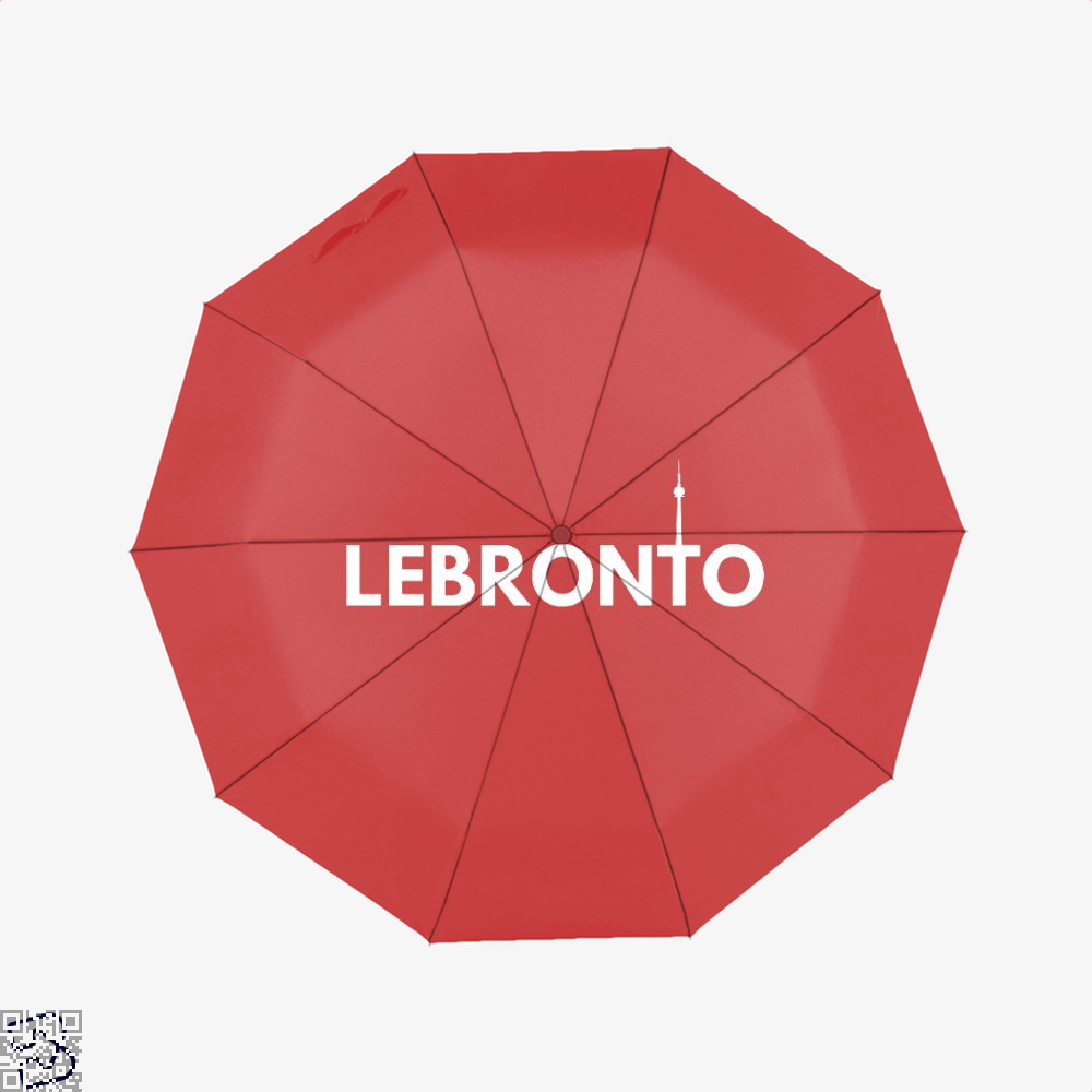 Lebronto City Cavs Umbrella - Red - Productgenapi