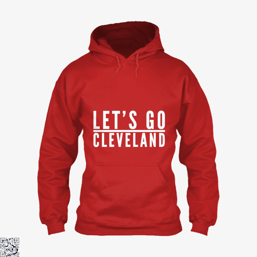 Lets Go Cleveland Cavs Hoodie - Red / X-Small - Productgenapi
