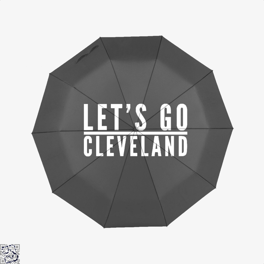 Lets Go Cleveland Cavs Umbrella - Black - Productgenapi