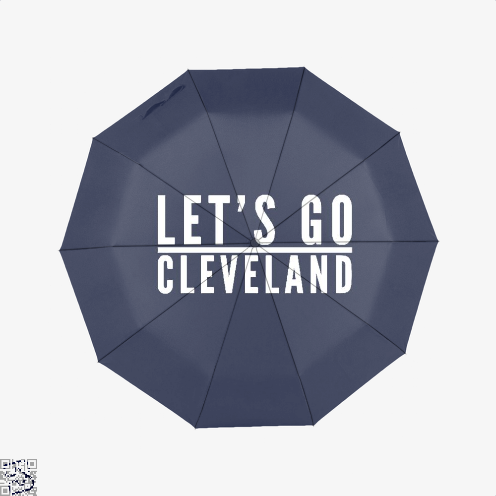 Lets Go Cleveland Cavs Umbrella - Blue - Productgenapi