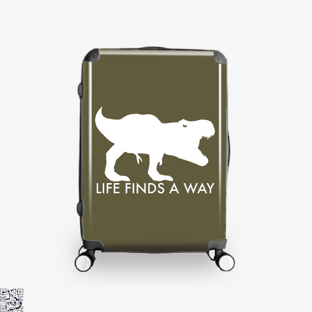 Life Finds A Way Jurassic World Suitcase - Brown / 16 - Productgenapi