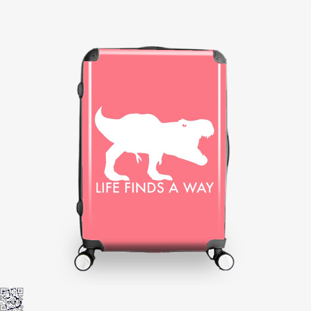 Life Finds A Way Jurassic World Suitcase - Pink / 16 - Productgenapi