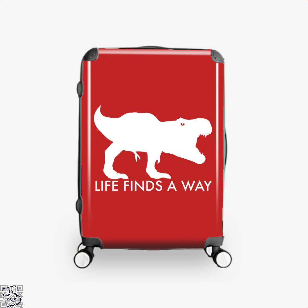 Life Finds A Way Jurassic World Suitcase - Red / 16 - Productgenapi