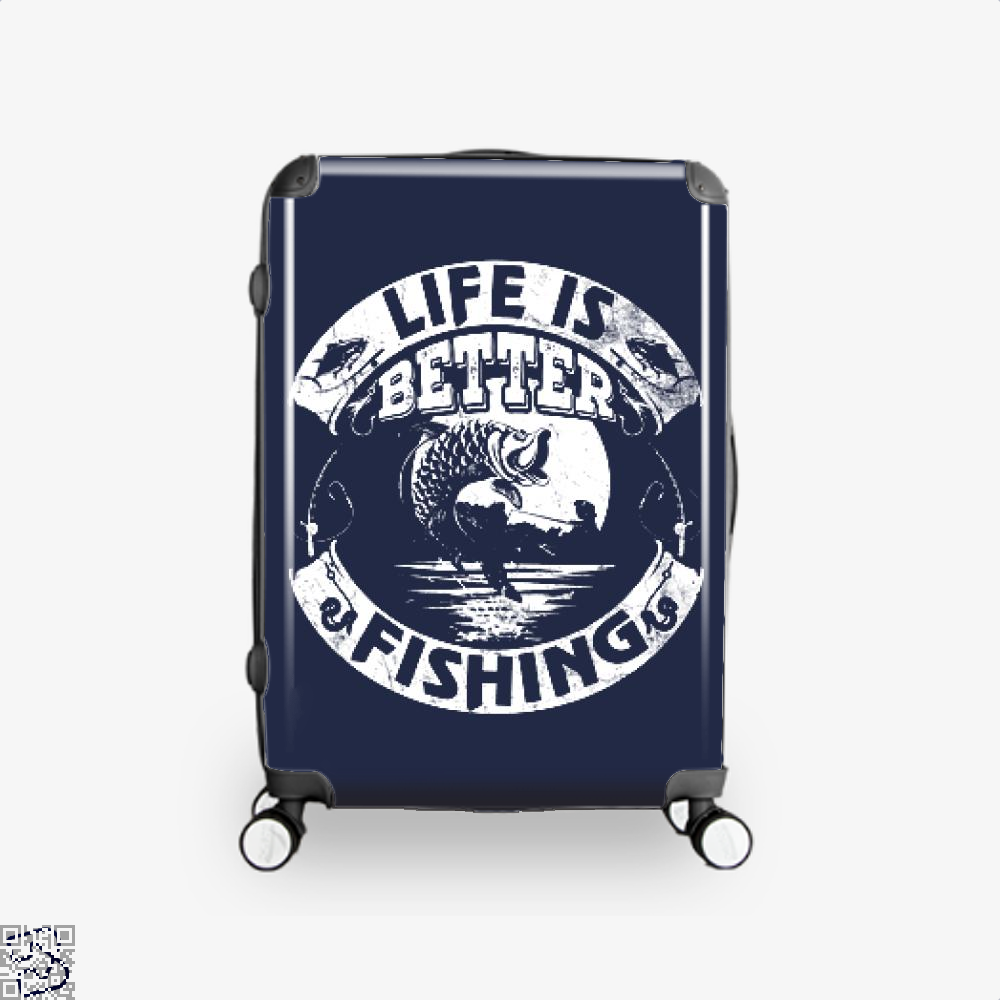 Life Is Better Fishing Suitcase - Blue / 16 - Productgenjpg