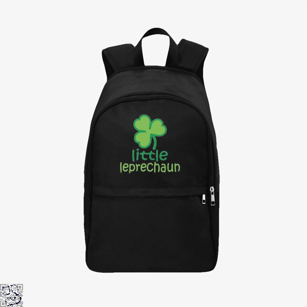 Little Ieprechaun Irish Clover Backpack - Black / Adult - Productgenjpg