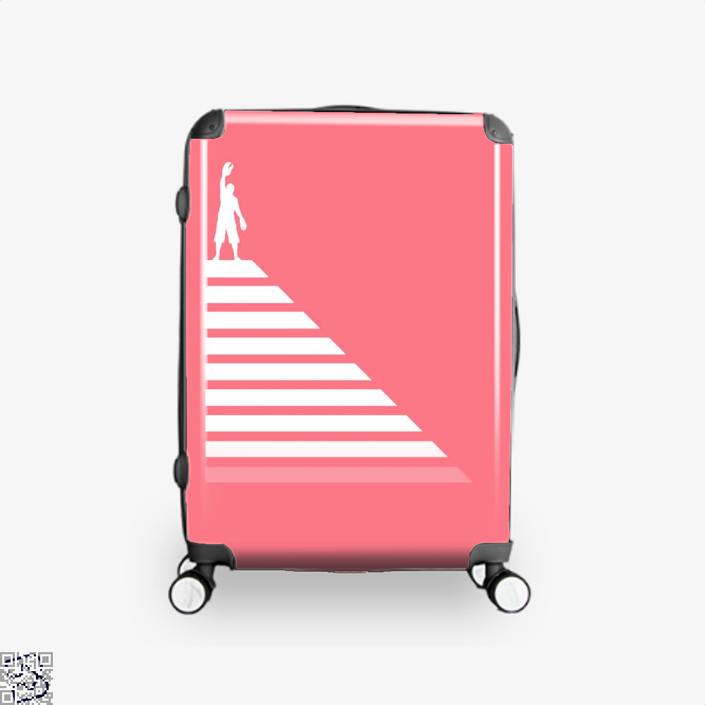 Lobster Hierachy Jordan Peterson Suitcase - Pink / 16 - Productgenapi