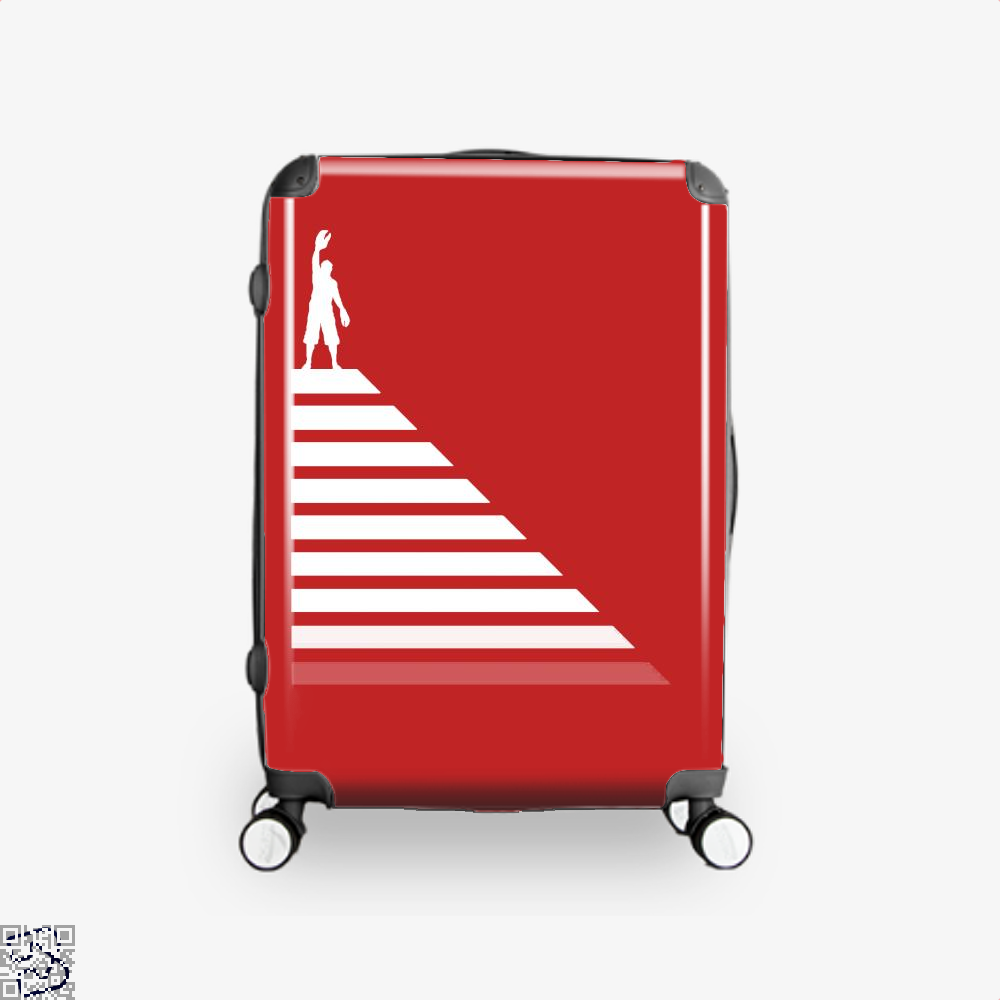 Lobster Hierachy Jordan Peterson Suitcase - Red / 16 - Productgenapi