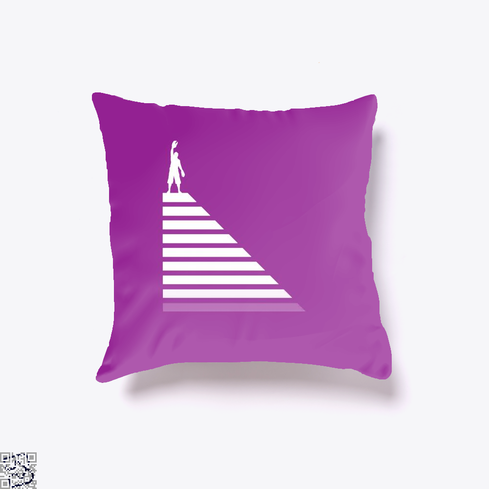 Lobster Hierachy Jordan Peterson Throw Pillow Cover - Purple / 16 X - Productgenapi