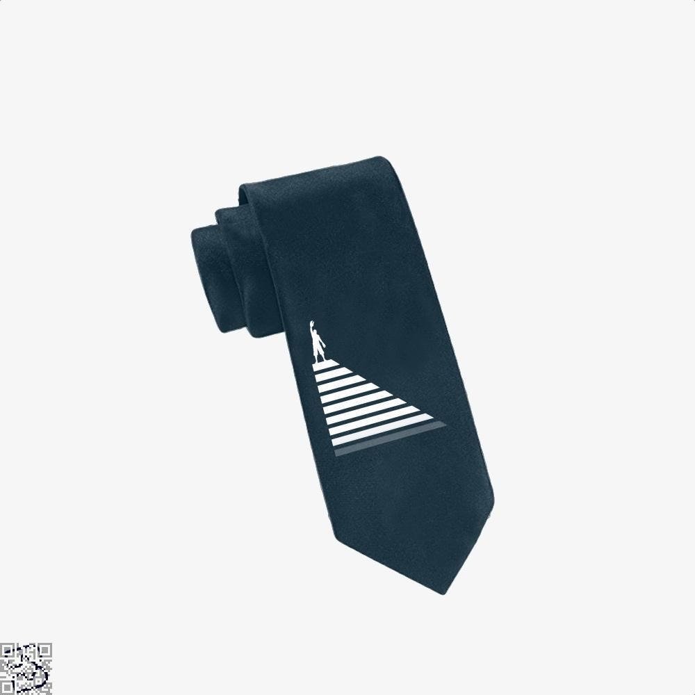 Lobster Hierachy Jordan Peterson Tie - Navy - Productgenapi