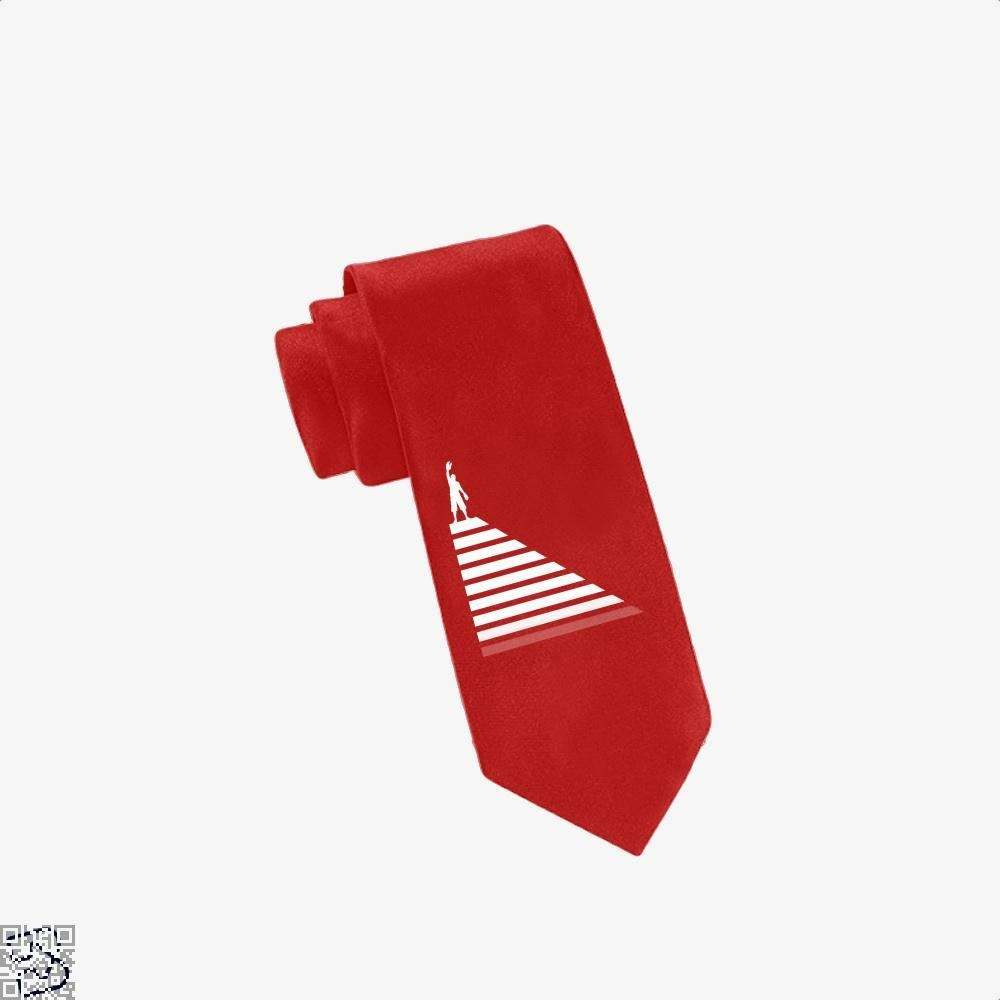 Lobster Hierachy Jordan Peterson Tie - Red - Productgenapi